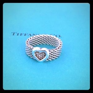 Authentic Tiffany & Co. 925 Sterling Silver Ring